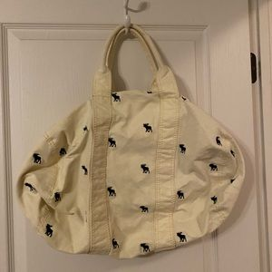 Abercrombie duffle bag